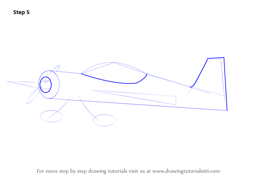 Learn How To Draw Model Airplane (Airplanes) Step By Step