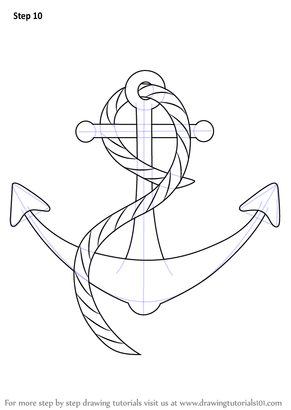 How To Draw Anchor Circle Free Download Oasis Dl Co