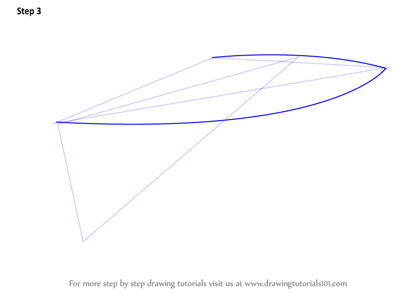 how to draw a boat shape in illustrator