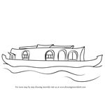 How to Draw a Boat House