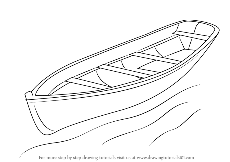 learn how to draw a boat boats and ships step by step drawing tutorials