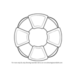 How to Draw a Lifesaver Wheel