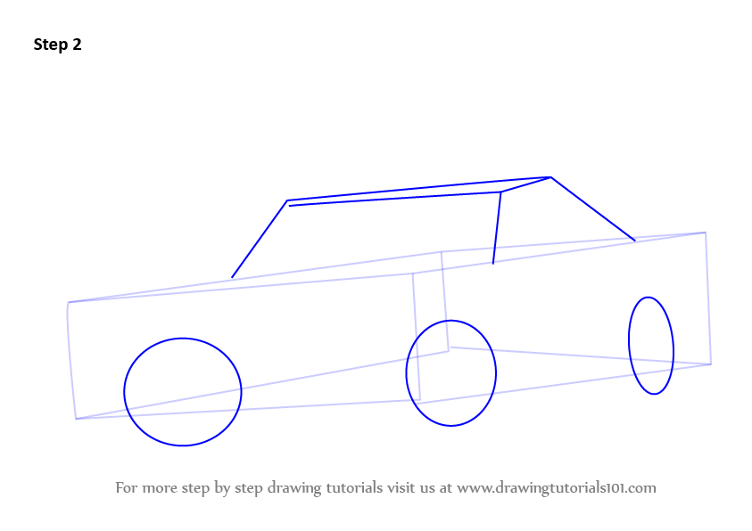 Learn How to Draw a 1969 Dodge Charger (Cars) Step by Step ...