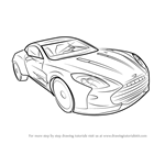 How to Draw Aston Martin One-77