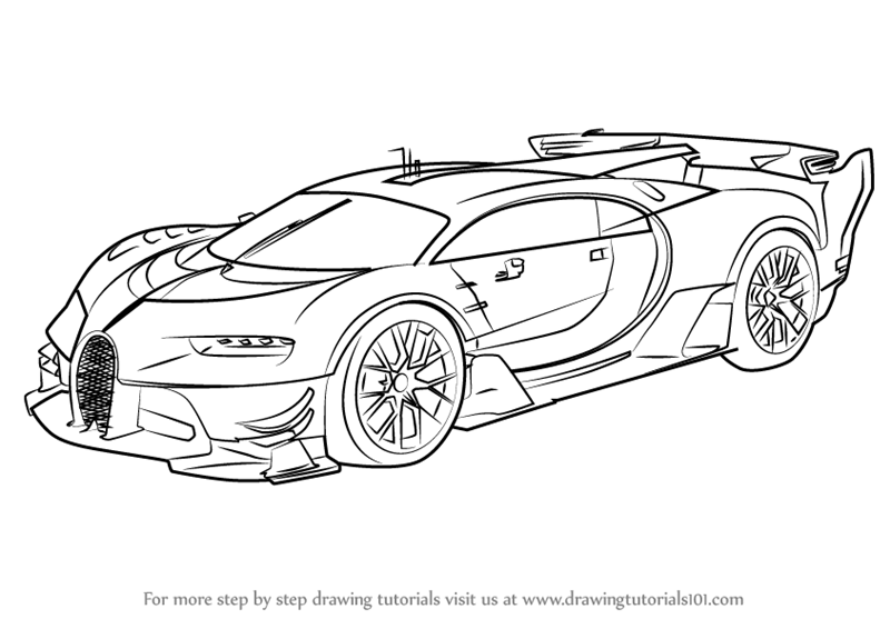 Bmw Concept Cars Coloring Pages