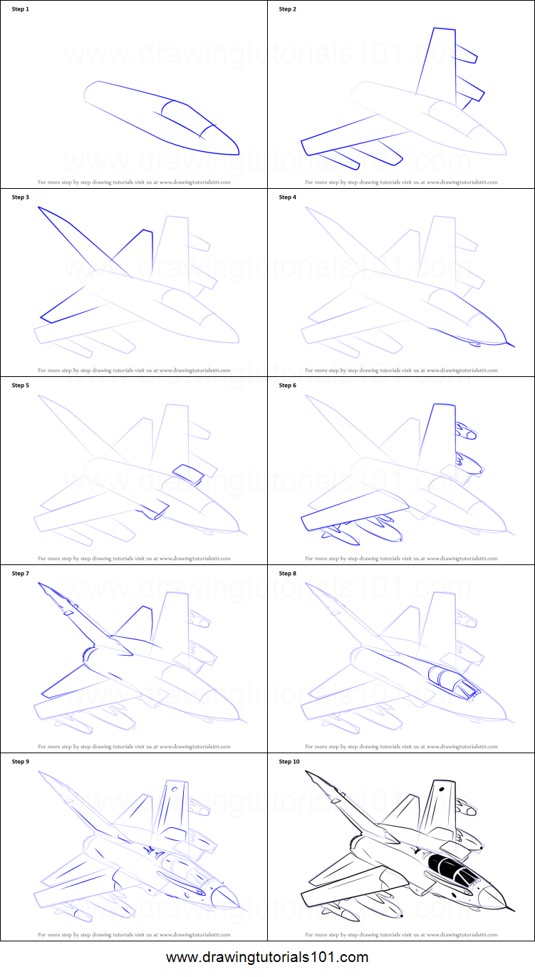 New Easy Drawings Of Fighter Jets