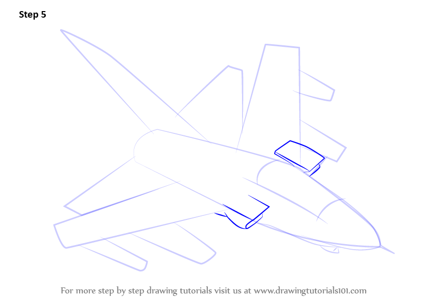 how to draw an aircraft carrier step by step