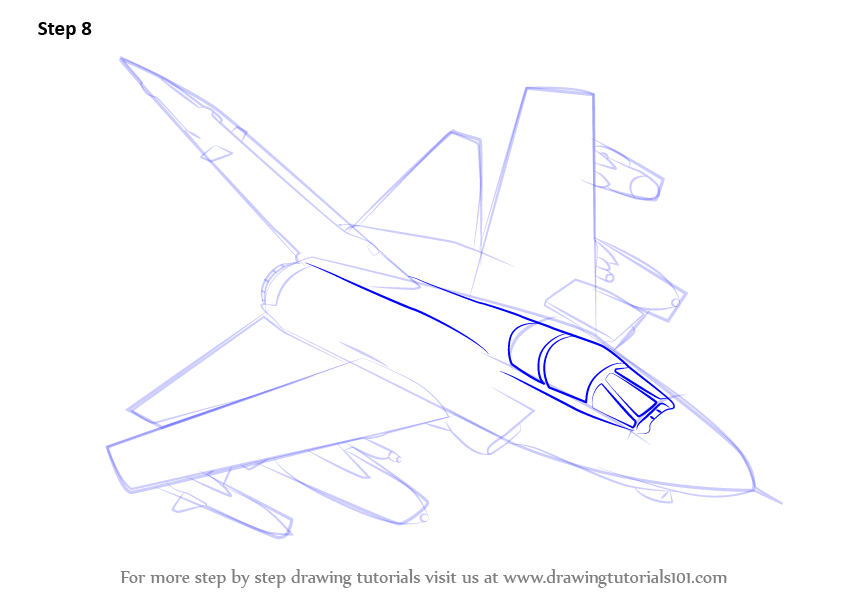 Learn How To Draw Panavia Tornado Aircraft Rb199 Jet Fighter Jets