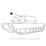 How to Draw a Simple Tank