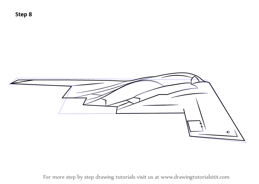 stealth bomber coloring pages - photo#18