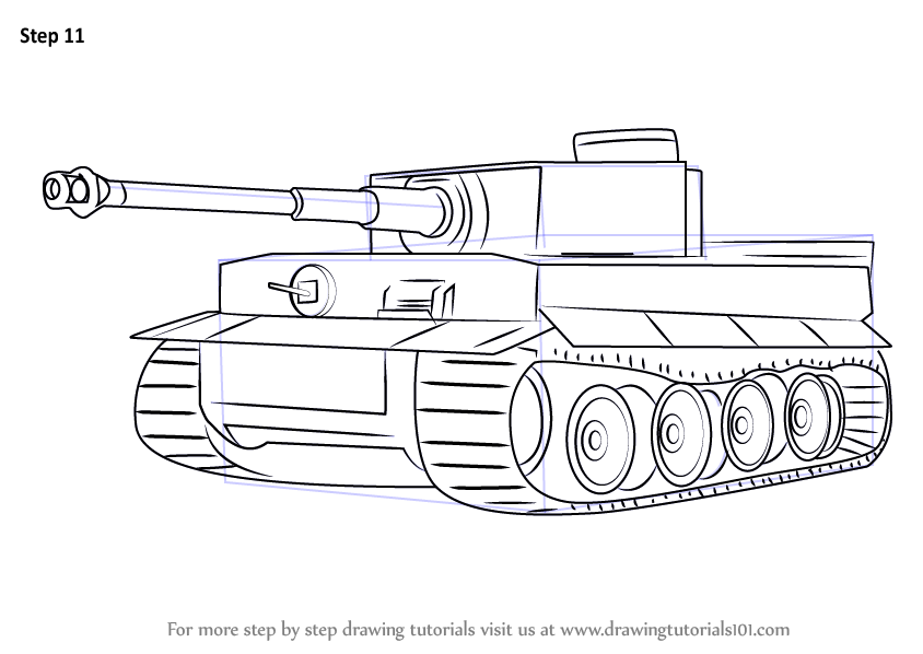 Pics For > German Tank Drawing