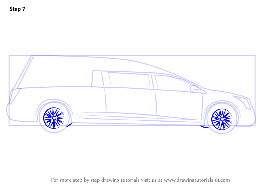 Step By Step How To Draw A Funeral Hearse
