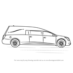 How to Draw a Funeral Hearse