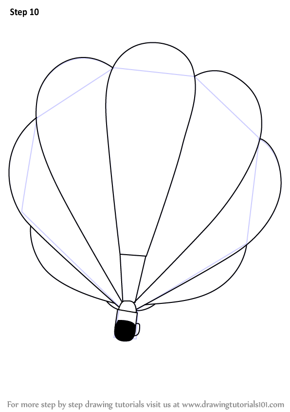 how to draw on a balloon