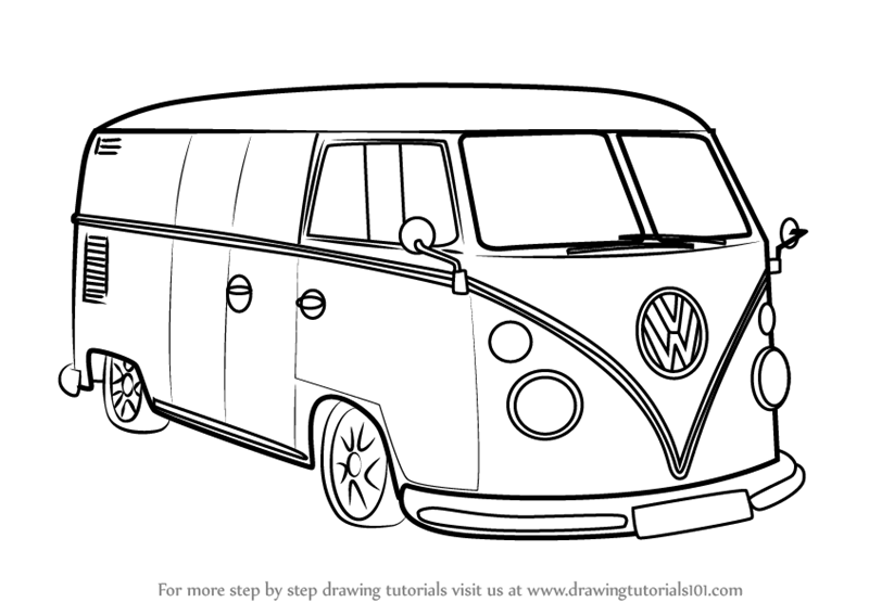 28 images how to draw a vw