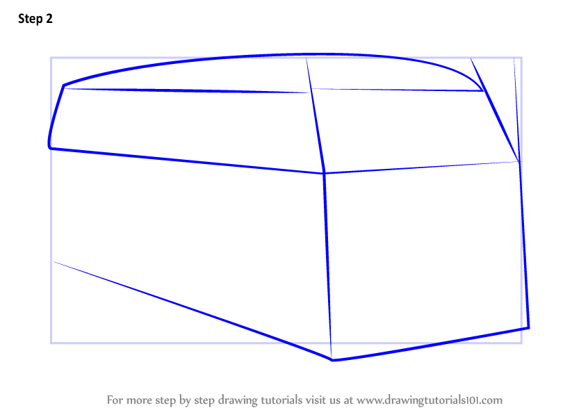 Learn How to Draw Volkswagen Van (Other) Step by Step : Drawing Tutorials