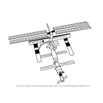 How to Draw a Space Station