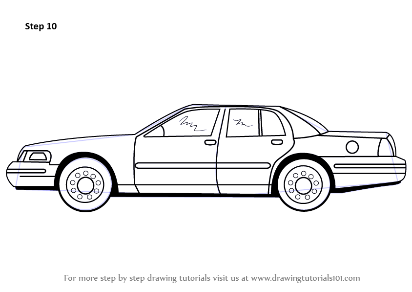 videos how to draw cars
