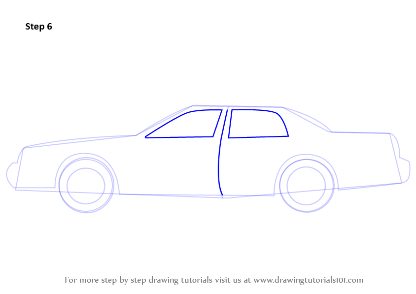 Learn How To Draw Police Car Victoria Police Step By