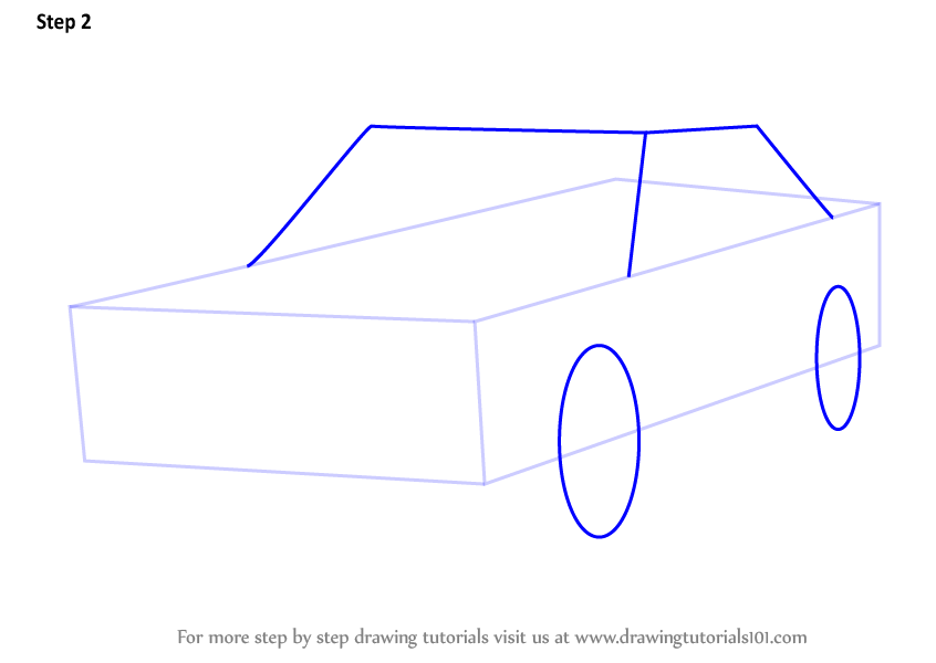 Learn How To Draw Sheriff Car (Police) Step By Step