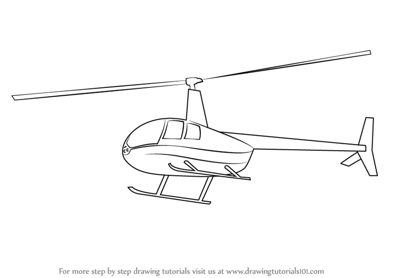 Image Gallery helicopter drawing