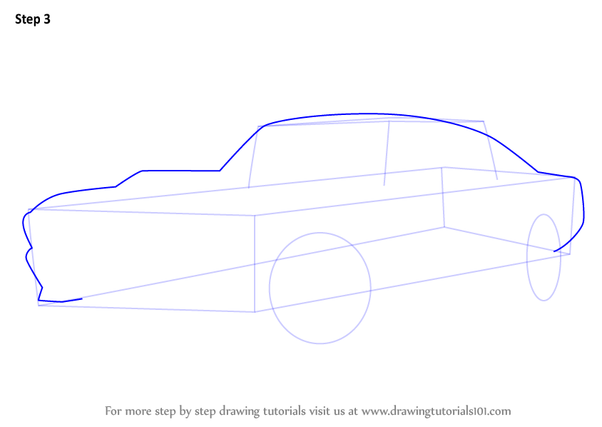 1968 Mustang Convertible >> Learn How to Draw a 1968 Mustang (Sports Cars) Step by Step : Drawing Tutorials