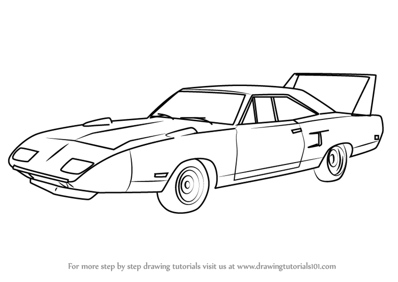 kleurplaat dodge daytona dodge ram truck coloring pages coloring home 1969 dodge