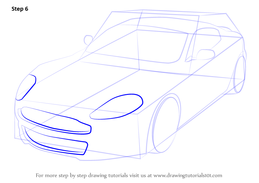 Step By Step How To Draw Aston Martin Dbs