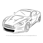 How to Draw Aston Martin DBS