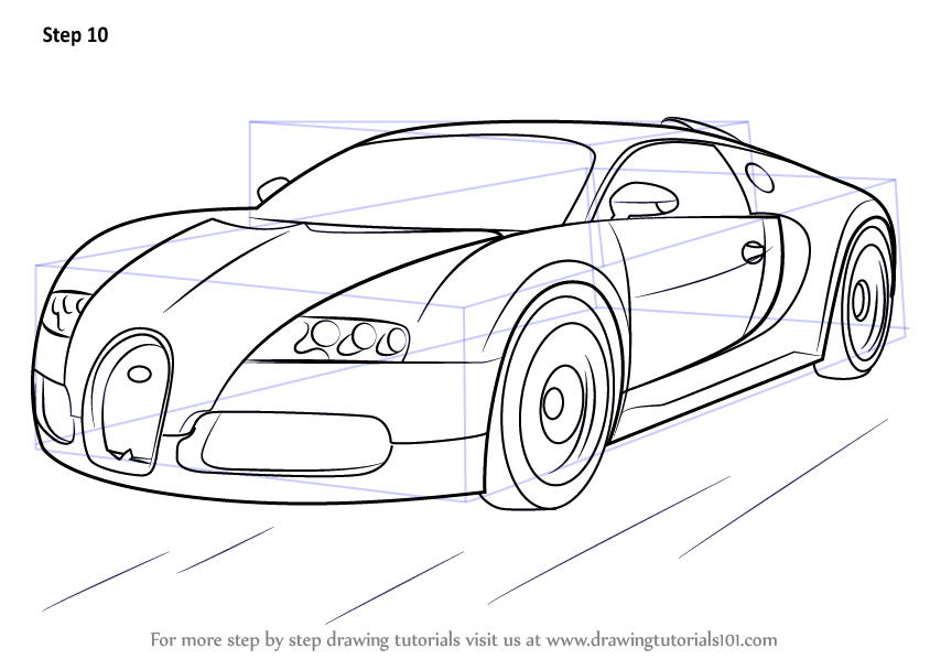 Jak Narysowac Traktor likewise Tut How To Sketch A Car From Side View X further Car Drawing additionally How To Draw A Dodge Charger Car Step moreover How To Draw Bugatti Veyron Step. on side view by to draw cool cars
