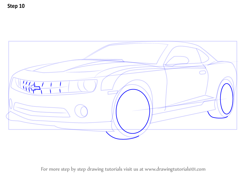 how to draw a tyre