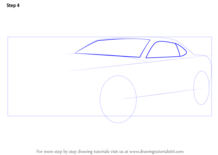 Learn How To Draw A Chevrolet Camaro Sports Cars Step By Step