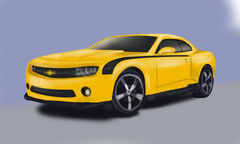 Learn Draw a Chevrolet Camaro (Sports Cars) Step by Step ...