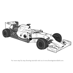 How to Draw F1 Car