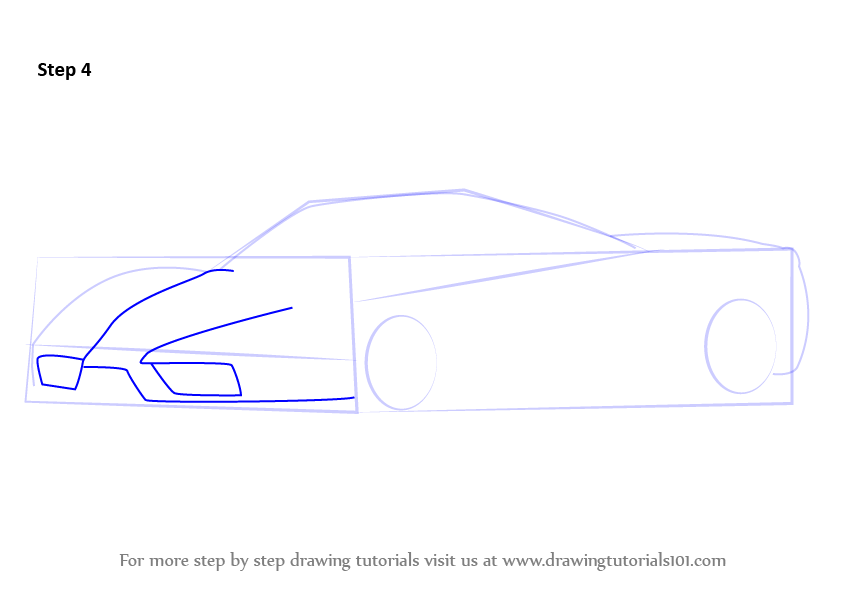 learn how to draw a ferrari enzo sports cars step by. Cars Review. Best American Auto & Cars Review