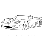 How to Draw Koenigsegg Agera R