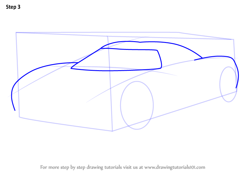 learn   draw koenigsegg ccx sports cars step  step drawing tutorials