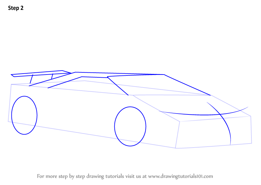 Learn How To Draw Lamborghini Aventador Lp750 4 Sv Roadster Sports