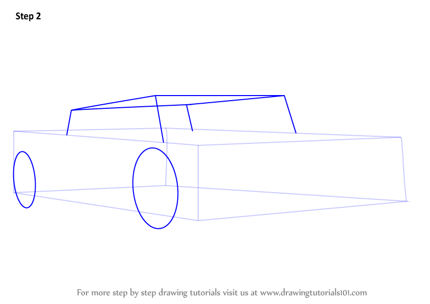 how to draw lamborghini car step by step