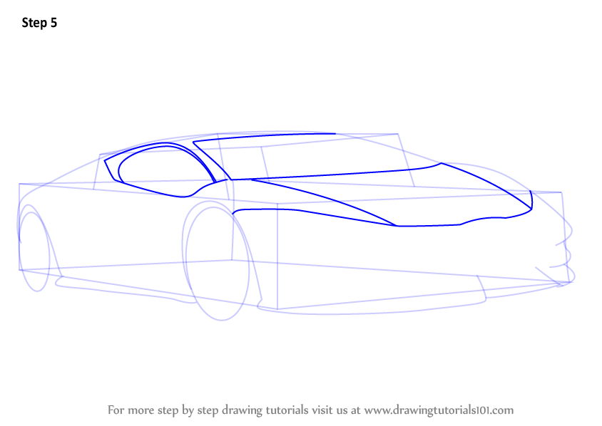 Learn How to Draw Lamborghini Centenario (Sports Cars ...