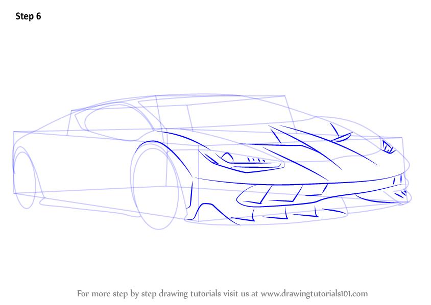 Learn How To Draw Lamborghini Centenario Sports Cars