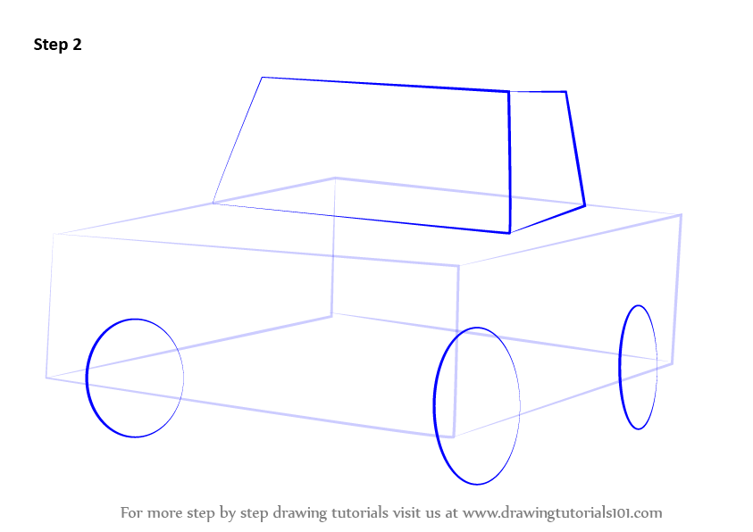 how to draw a truck step by step with pictures