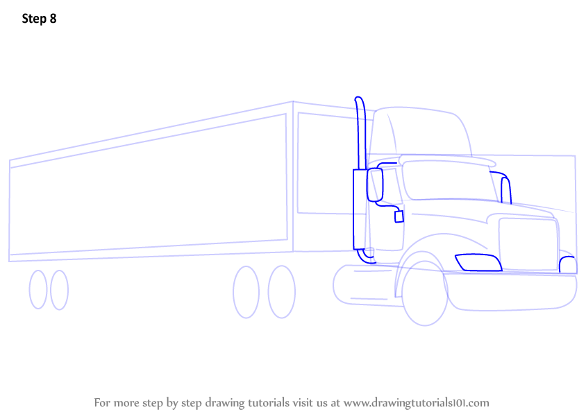 Peterbilt Dump Truck Coloring Pages Garbage Truck Coloring