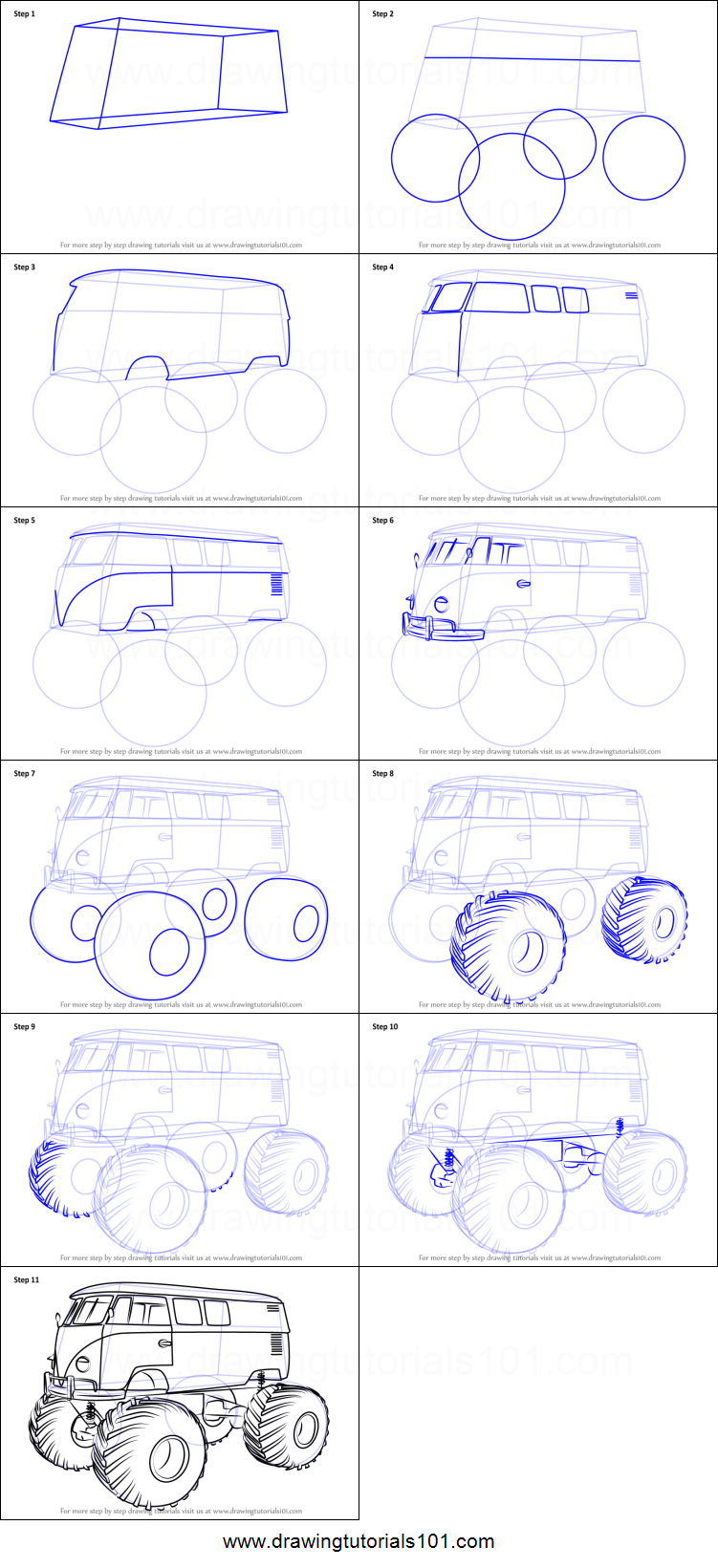 2 Easy Ways to Draw a Truck (with Pictures) - wikiHow