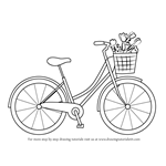 How to Draw a Cute Bicycle