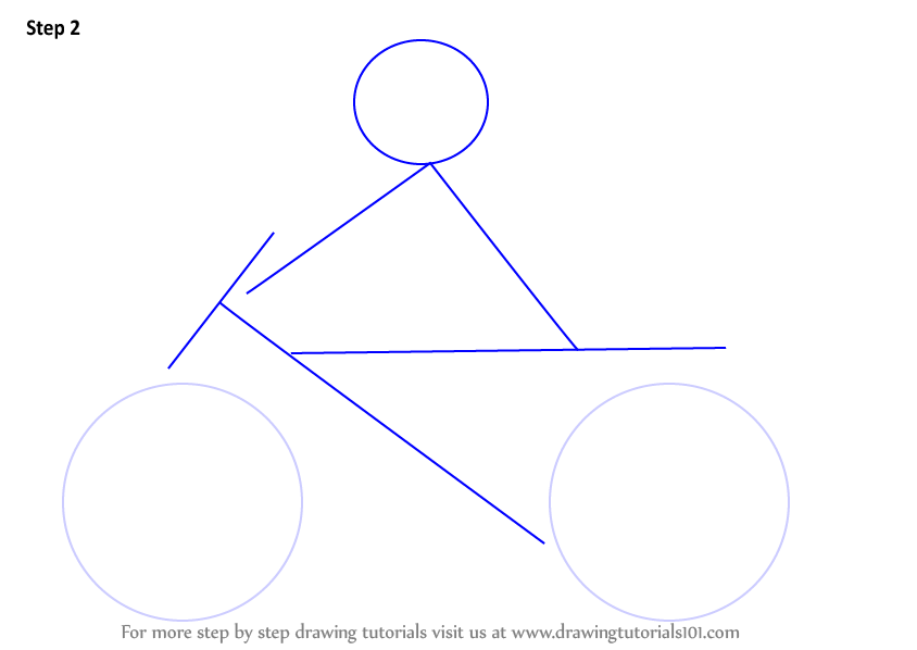 Draw A Circle Lines As Shown Step 3