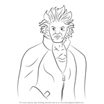 How to Draw Will Powers from Ace Attorney