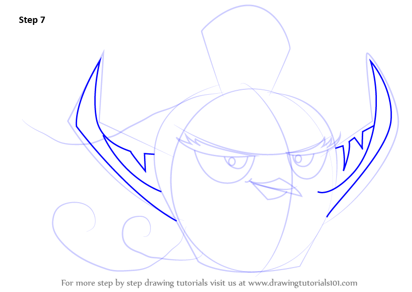 Learn How To Draw Gale From Angry Birds (Angry Birds) Step