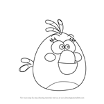 How to Draw Matilda from Angry Birds