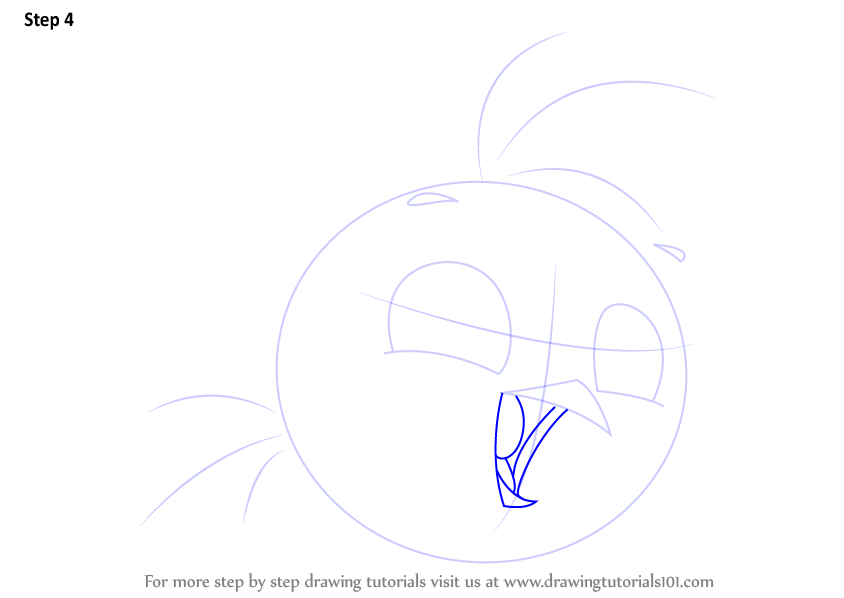 Learn How To Draw Stella From Angry Birds (Angry Birds
